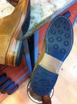 Customised Peco's with a complete handmade combination sole